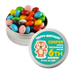 Baby Tiger Birthday Twist Tins