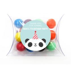 Panda Birthday Pillow Box