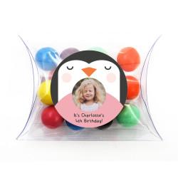 Penguin Birthday Pillow Box