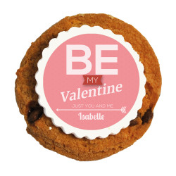 Be My Valentine Printed Cookies