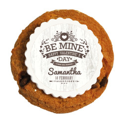 Be Mine Valentine Printed Cookies