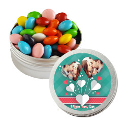 Hearts Valentine Twist Tins