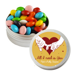 All I Need is You Valentine Twist Tins