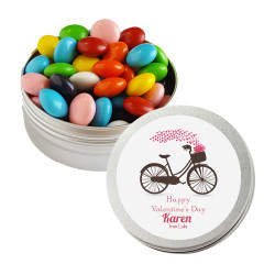 Biking Hearts Valentine Twist Tins