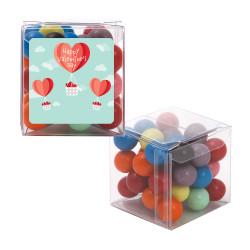 Heart Air Balloon Valentine Sweet Cubes