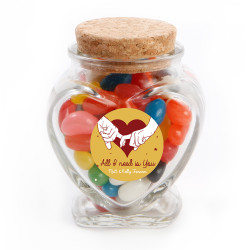All I Need is You Valentine Glass Jar