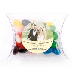 Cream Custom Photo Pillow Box