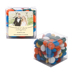 Cream Custom Photo Sweet Cubes