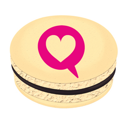 Heart ❤ Printed Macarons