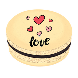 Love Hearts ❤ Printed Macarons