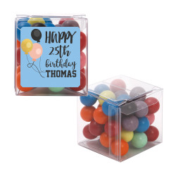 Balloons  Birthday Sweet Cubes