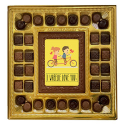 I Wheelie Love You Deluxe Chocolate Box