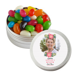 Best Mum Custom Photo Mother's Day Twist Tins