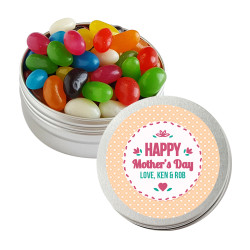 Orange Hearts Mother's Day Twist Tins