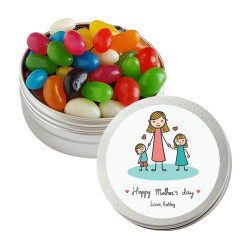 Mom, Son and Daughter Mother's Day Twist Tins