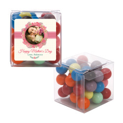 Floral Custom Photo Mother's Day Sweet Cubes