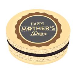 Happy Mother's Day-2 Printed Macarons