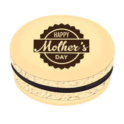 Happy Mother's Day-4 Printed Macarons