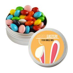 Orange Easter Bunny Ear Twist Tins