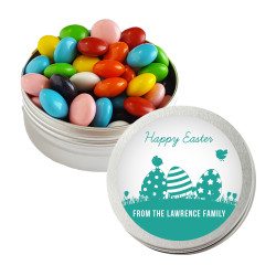 Green Easter Eggs Twist Tins