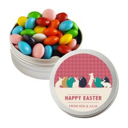Easter Eggs and Bunnies Twist Tins