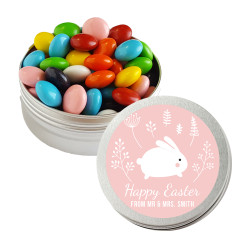 Pink Baby Easter Bunny Twist Tins