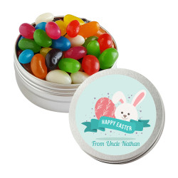 Baby Bunny and Egg Twist Tins