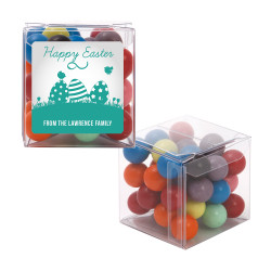 Green Easter Eggs Sweet Cubes