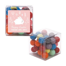 Pink Baby Easter Bunny Sweet Cubes