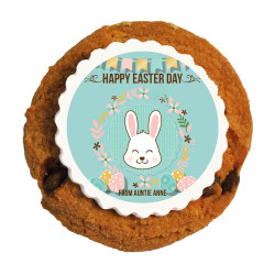 Happy Bunny Printed Cookies