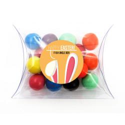 Orange Easter Bunny Ear Pillow Box