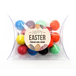 Happy Easter Eggs Pillow Box