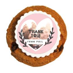 4_Custom Photo Thank You Printed Cookies