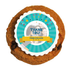 5_Custom Photo Thank You Printed Cookies