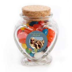 1_ Custom Photo Bridal Shower Glass Jar