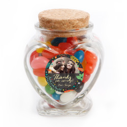 4_ Custom Photo Bridal Shower Glass Jar