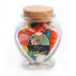 5_ Custom Photo Bridal Shower Glass Jar