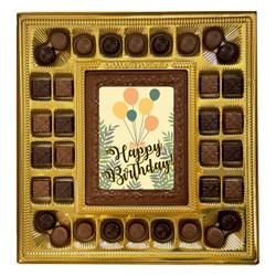 Balloon Happy Birthday Deluxe Chocolate Box