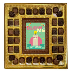 Blow Me Deluxe Chocolate Box