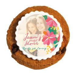 3_ Custom Photo Bridal Shower Printed Cookies