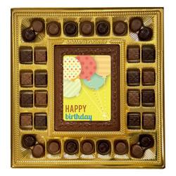 Balloons Happy Birthday Deluxe  Chocolate Box