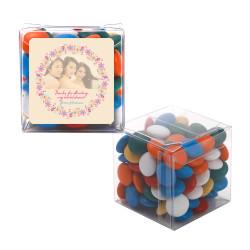 2_ Custom Photo Bridal Shower Sweet Cubes