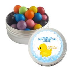 Baby Duck Baby Shower Twist Tins