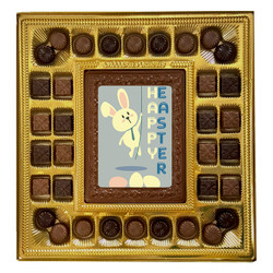 Bunny Happy Easter Deluxe  Chocolate Box