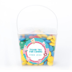 Pink and Blue Baby Shower Noodle Box