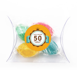 Orange Anniversary Pillow Box
