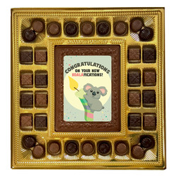 Congratulations on Your New Koalafications! Deluxe  Chocolate Box
