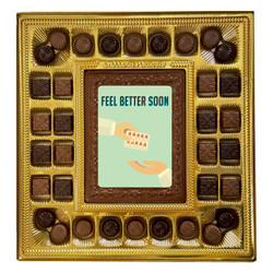 Feel Better Soon Deluxe  Chocolate Box