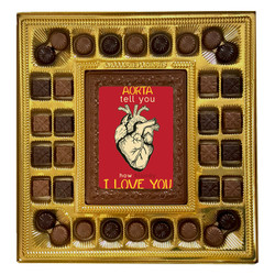 Aorta Tell You Deluxe  Chocolate Box