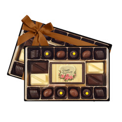 Flower Happy Anniversary Signature Chocolate Box